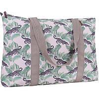 Дорожня жіноча сумка, стильна тканинна сумка для подорожі, Bagland Anita 30 л. сублімація (00731664), фото 1