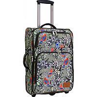 Чемодан дорожный средний, тканевый чемодан на колесах  Bagland Леон 51 л. сублімація 178 (0037666244), фото 1