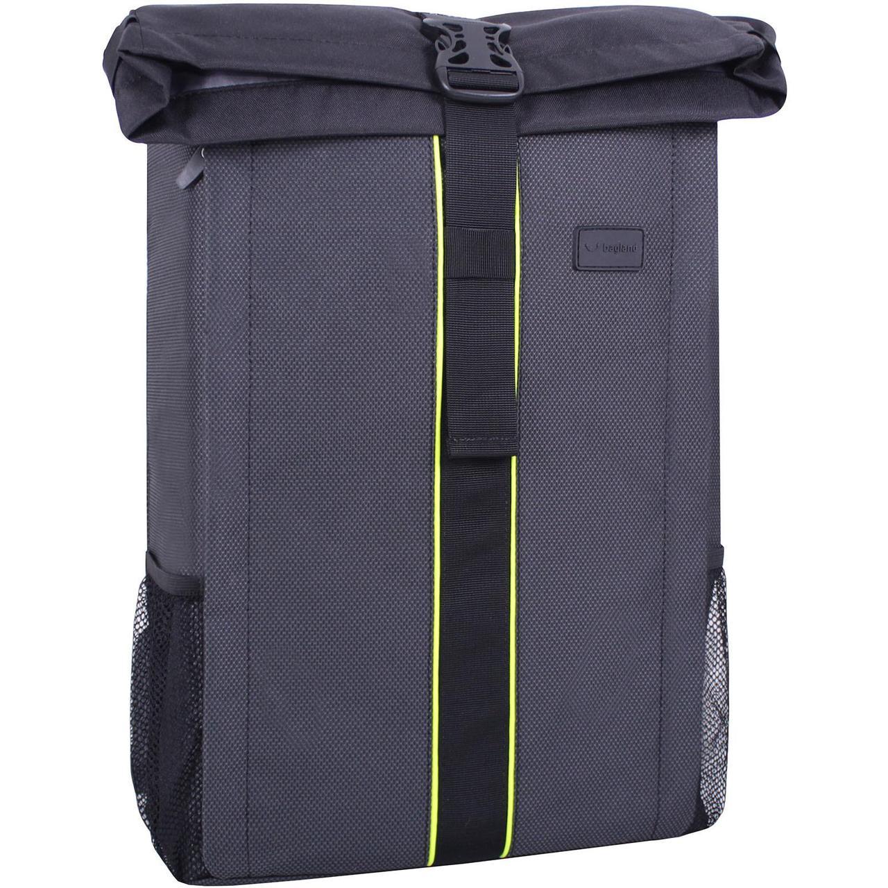 Рюкзак для ноутбука Bagland Roll 21 л. Чёрный (00156169)