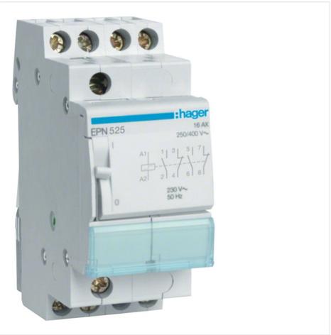 Импульсное реле Hager EPN540 230В/16А, 4НВ, 2м, фото 2