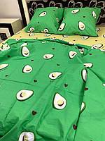 Постільна білизна Gold Авокадо тропік, фото 1