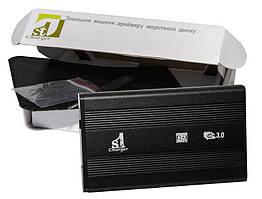 """Внешний карман 1StCharger SATA HDD/SSD 2.5"""", USB 3.0, Black (HDE1STU2530B)"""