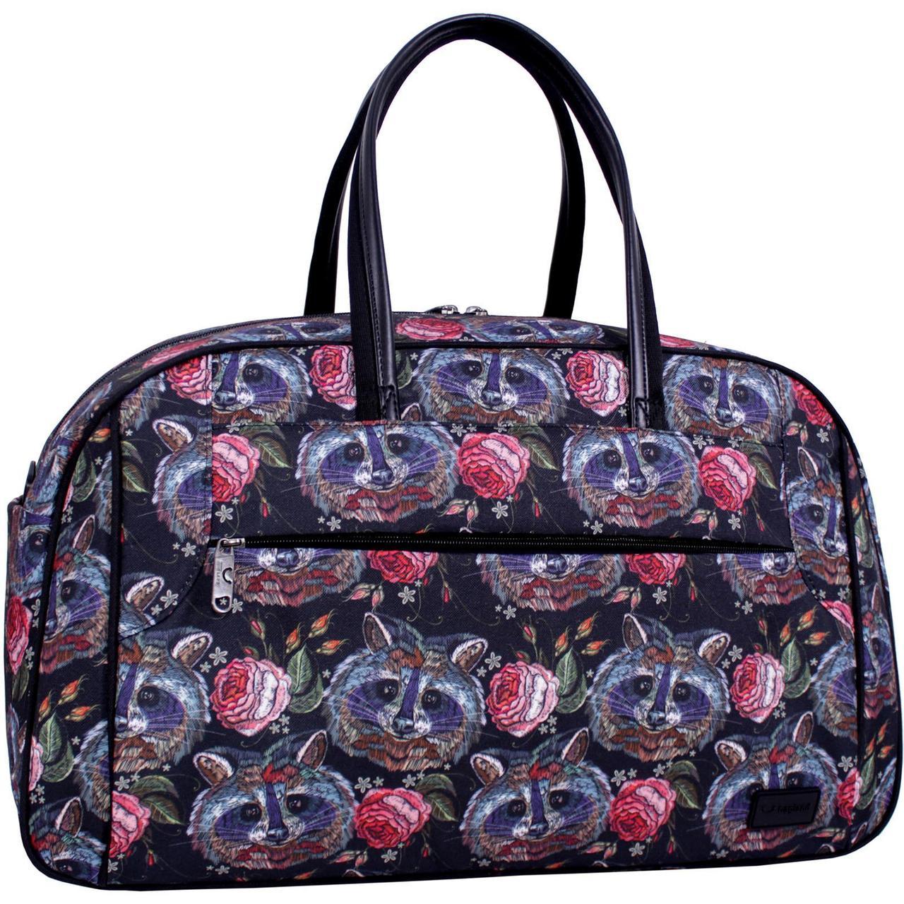 Дорожня сумка для ручної поклажі Bagland Туніс 34 л. Сублимація  /Дорожная сумка для ручной клади Bagland Тунис 34 л.   (00390664)