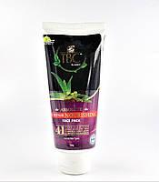 Омолоджуюча натуральна маска для особи 4 в 1 з пептидами і рослинними компонентами