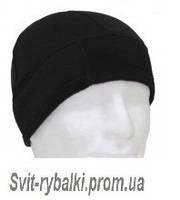 Флисовая шапка (чёрная)