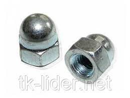 Гайки колпачковые М4 DIN 1587, фото 2