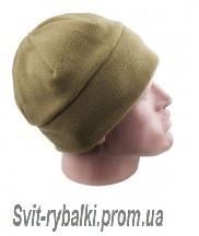 Флисовая шапка (хаки)