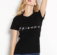 """Футболка женская с надписью """"FRIENDS"""", фото 1"""