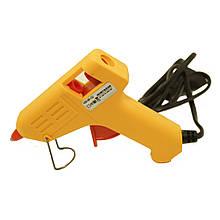 Клеевой пистолет Expert Glue MI-02, под клей 7мм, 25W, желтый
