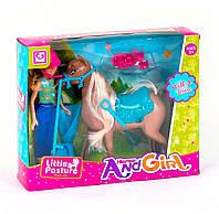 Кукла с лошадкой Kimi разноцветная 79506048