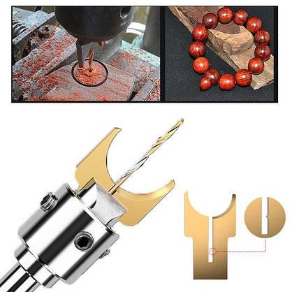 Набір фрез для виготовлення кульок, намистин 6-12мм (4 змінних ножа), фото 3