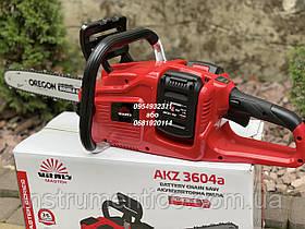 Пила аккумуляторная Vitals Master AKZ 3604a 36 В с 2 аккумуляторами и зарядкой