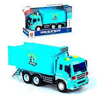Легковой автомобиль Kimi с инерцией со световым и звуковым эффектом голубая 78645048