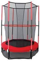 Батут с защитной сеткой детский Батут с оградительной сеткой диаметр 140см высота 180см  батут детский