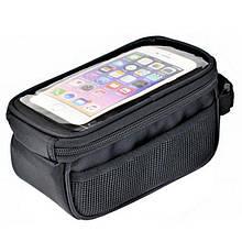 """Сумка на раму Prox Nevada 207 под смартфон 5,7"""", черный (A-SP-0256)"""
