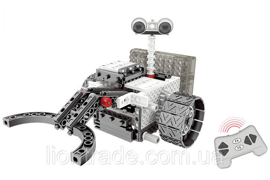 Конструктор STEM з пультом HIQ R732 4-в-1 253 деталі (місяцеходи)