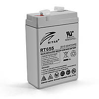 Акумуляторна батарея AGM RITAR RT655, Gr