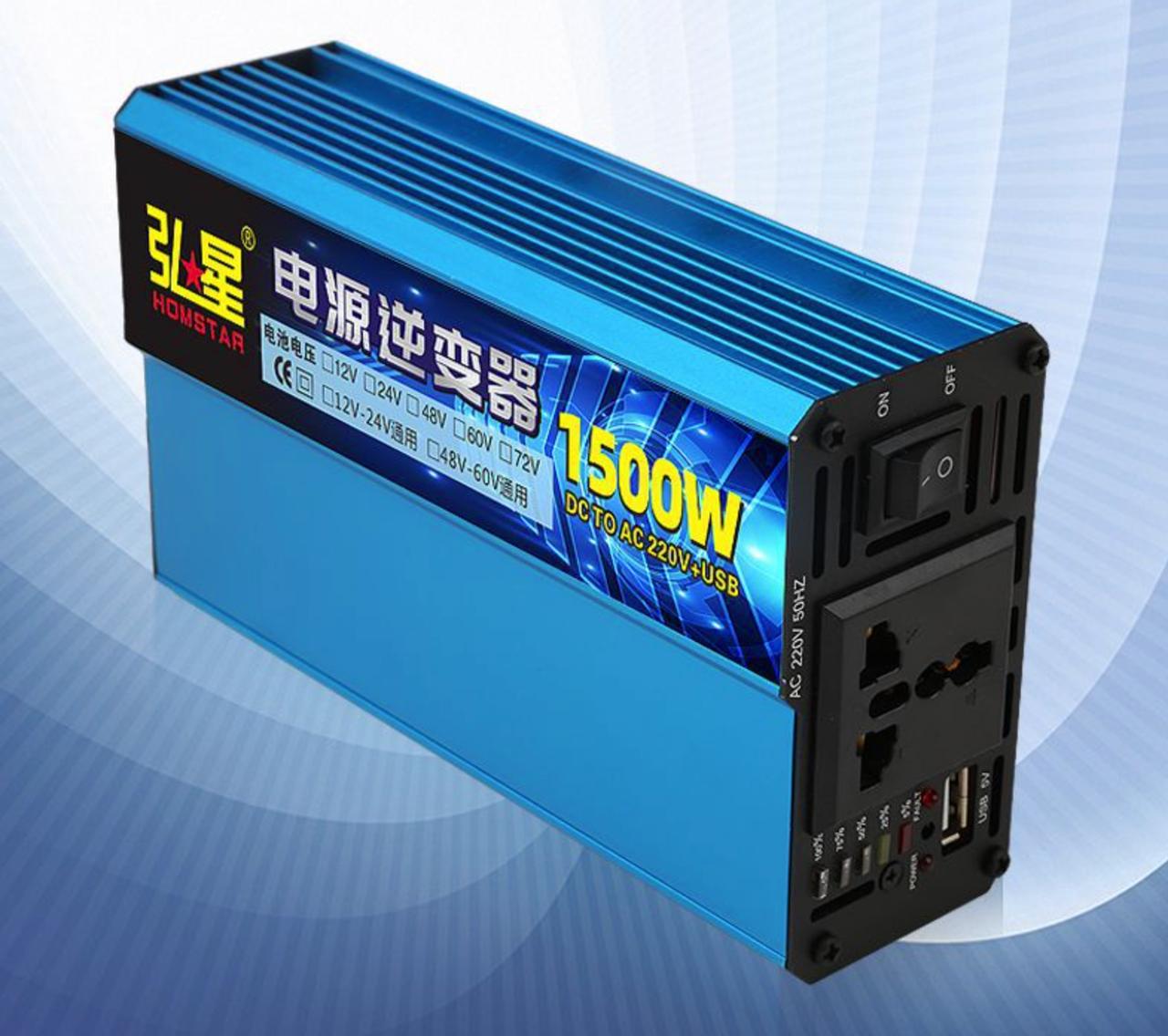 Инвертор напряжения Voltronic, 1500W, 48