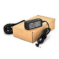 Блок живлення MERLION для ноутбука ASUS 19V 2.37A (45 Вт) штекер 3,0 * 1,35 мм, довжина 0,9 м + кабель живлення