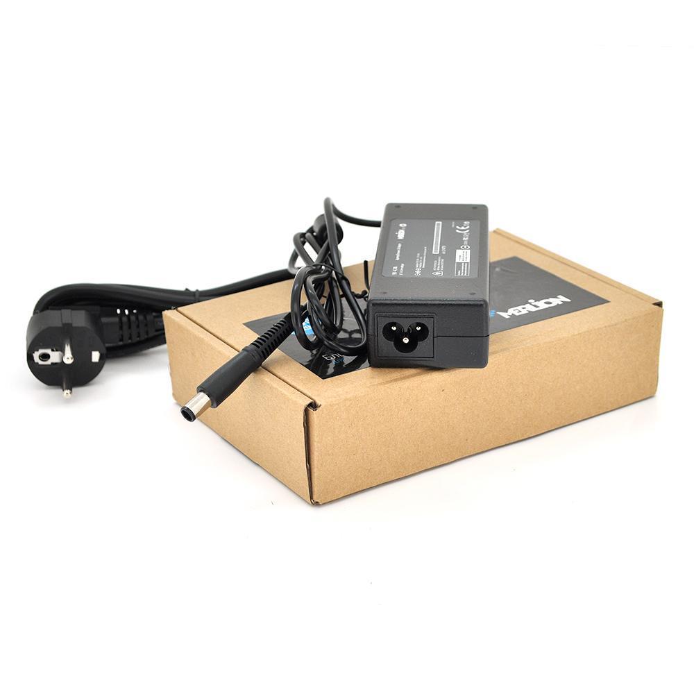 Блок живлення MERLION для ноутбукa HP 19V 4.74A (90 Вт) штекер 7.4 * 5.0мм, довжина 0,9 м + кабель живлення