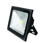 Прожектор LED EUROELECTRIC COB черный 50W 6500K classic