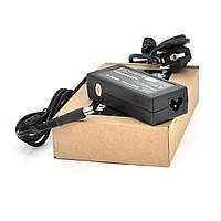 Блок живлення MERLION для ноутбукa HP 18.5V 3.5A (65 Вт), штекер 7.4 * 5.0мм, довжина 0,9 м + кабель живлення