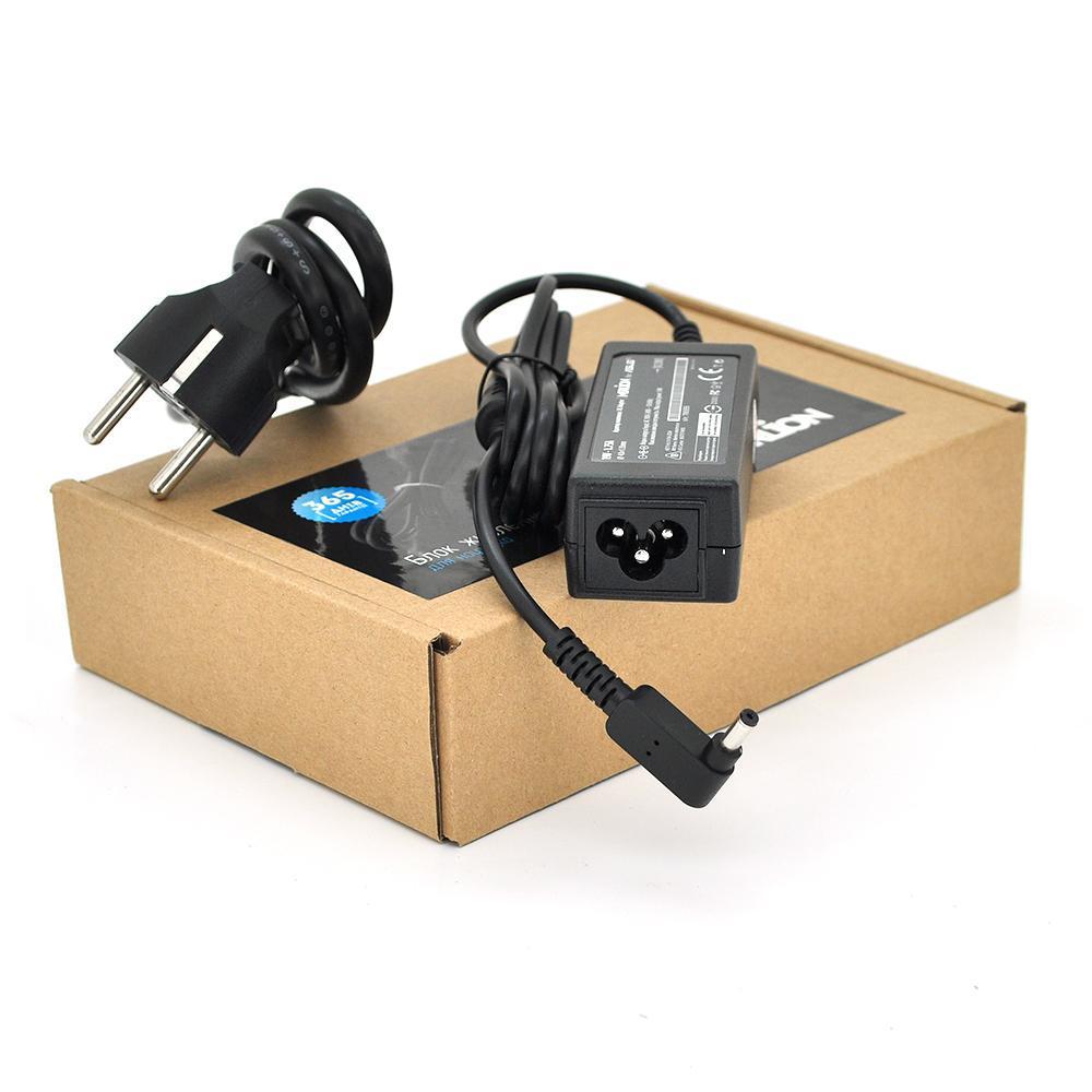 Блок живлення MERLION для ноутбука ASUS 19V 1.75A (34 Вт) штекер 4.0 * 1.35мм, довжина 0,9 м + кабель живлення