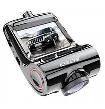Видеорегистратор WIF 6743- V1 с двумя камерами Черный (300836)