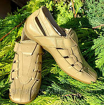 Туфли - мокасины  B&G для мальчика р. 33, 34, 37, 38, фото 3