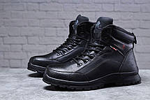 Зимние мужские ботинки 31881, Gorgeous (на меху, в коробке), черные [ 43 45 ] р.(42-27,5см), фото 3