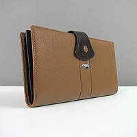 Кошелек кожаный женский коричневый Prensiti 116-406, фото 1