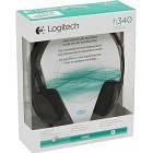 Гарнитура Logitech Stereo Headset H340, фото 2