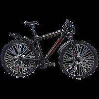 """TitanBike Велосипед Titan First 27.5"""" 20"""" Чорний-Червоний"""