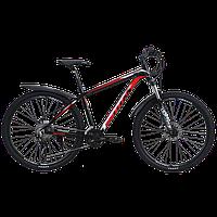 """TitanBike Велосипед Titan Germes 27.5"""" 17"""" Чорний-Червоний"""