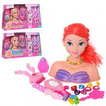 Лялька-манекен голова для зачісок B369