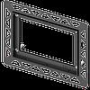 Монтажна рамка для установки скляних панелей TECEloop і TECEsquare на рівні стіни 9.240.649 хром глянцевий