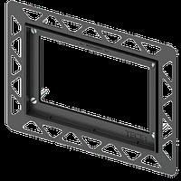 Монтажна рамка для установки скляних панелей TECEloop і TECEsquare на рівні стіни 9.240.649 хром глянцевий, фото 1