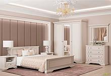 Спальня Вайт (нові напрямні) Комплект 3Д Gerbor холдинг