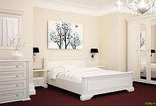 Спальня Вайт (новые направляющие) Спальня 4Д Gerbor холдинг
