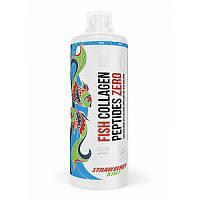 Для суставов и связок MST Fish Collagen Peptides Zero, 1 литр Клубника-киви