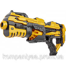 Детский игрушечный бластер на мягких пулях FJ1056 (14 патронов)