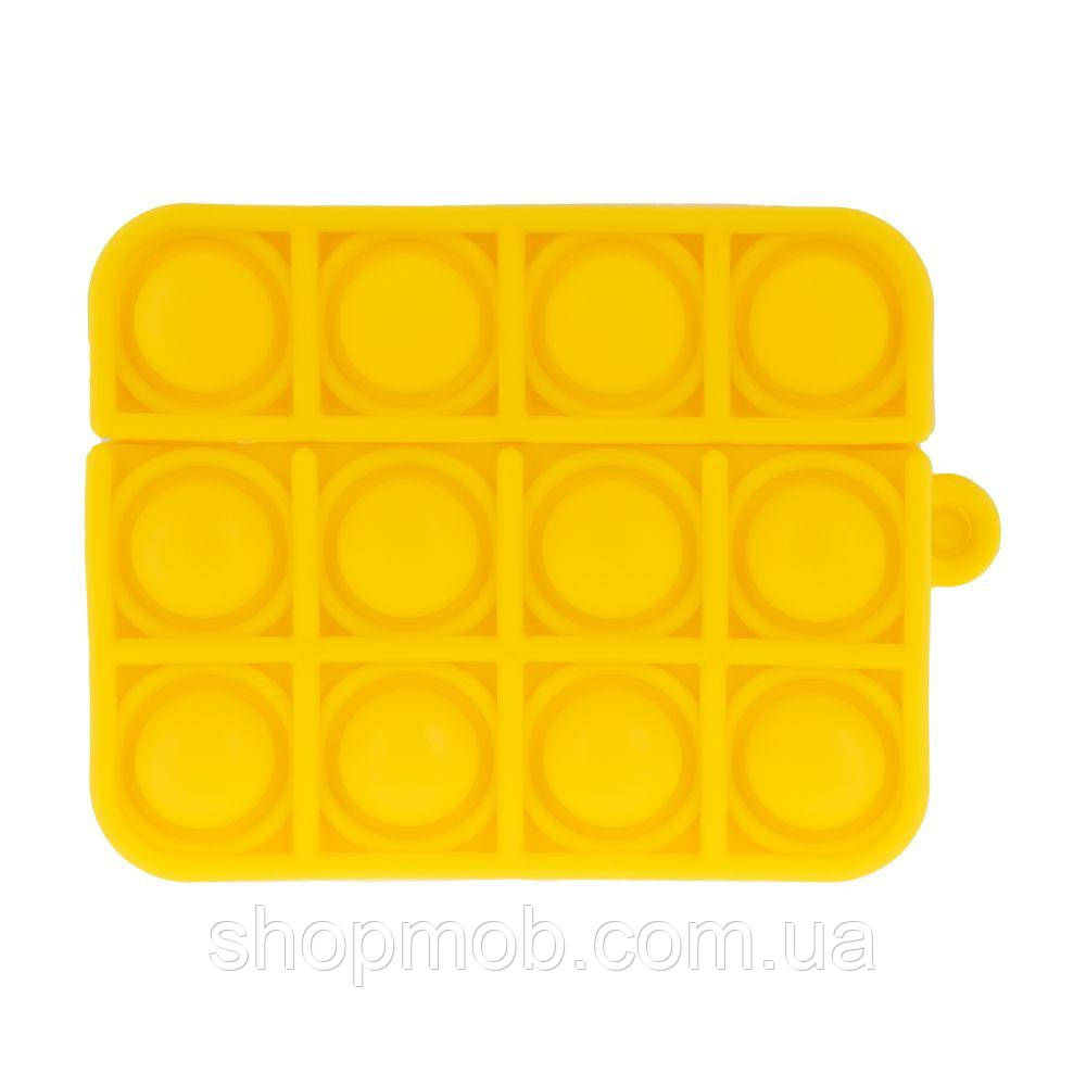 Футляр для наушников Airpod Pro Antistress Цвет 8, Желтый