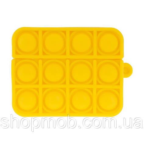 Футляр для наушников Airpod Pro Antistress Цвет 8, Желтый, фото 2