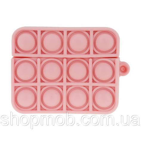 Футляр для наушников Airpod Pro Antistress Цвет 10, Пудровый, фото 2