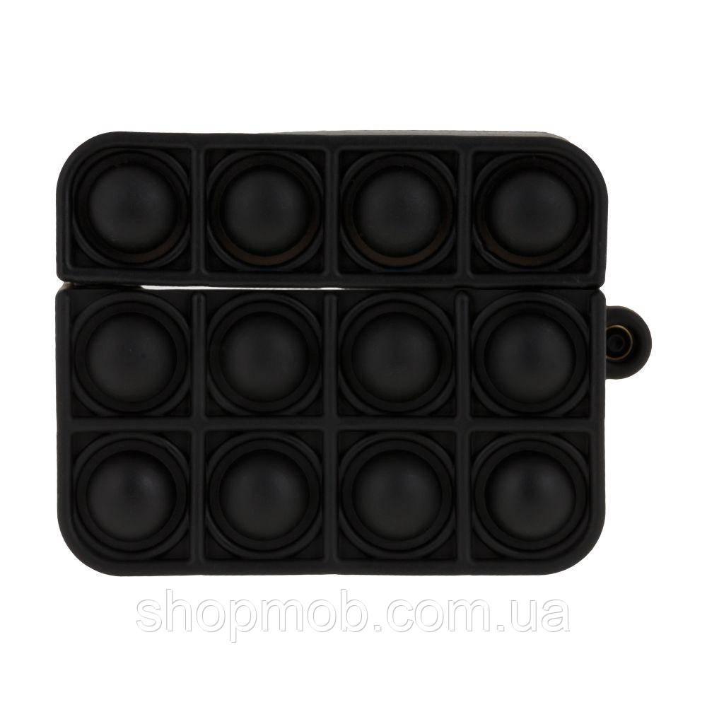 Футляр для навушників Airpod Pro Antistress Колір 1, Чорний
