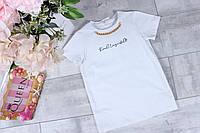 Школьная блузка для девочки оптом 122-128-134-140
