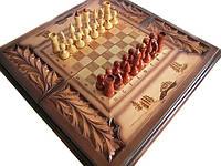 Шахматы деревянные,резные шахматы,шахматы ручной работы
