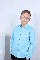 Школьная рубашка оптом 122-128-134-140-146-152, фото 1