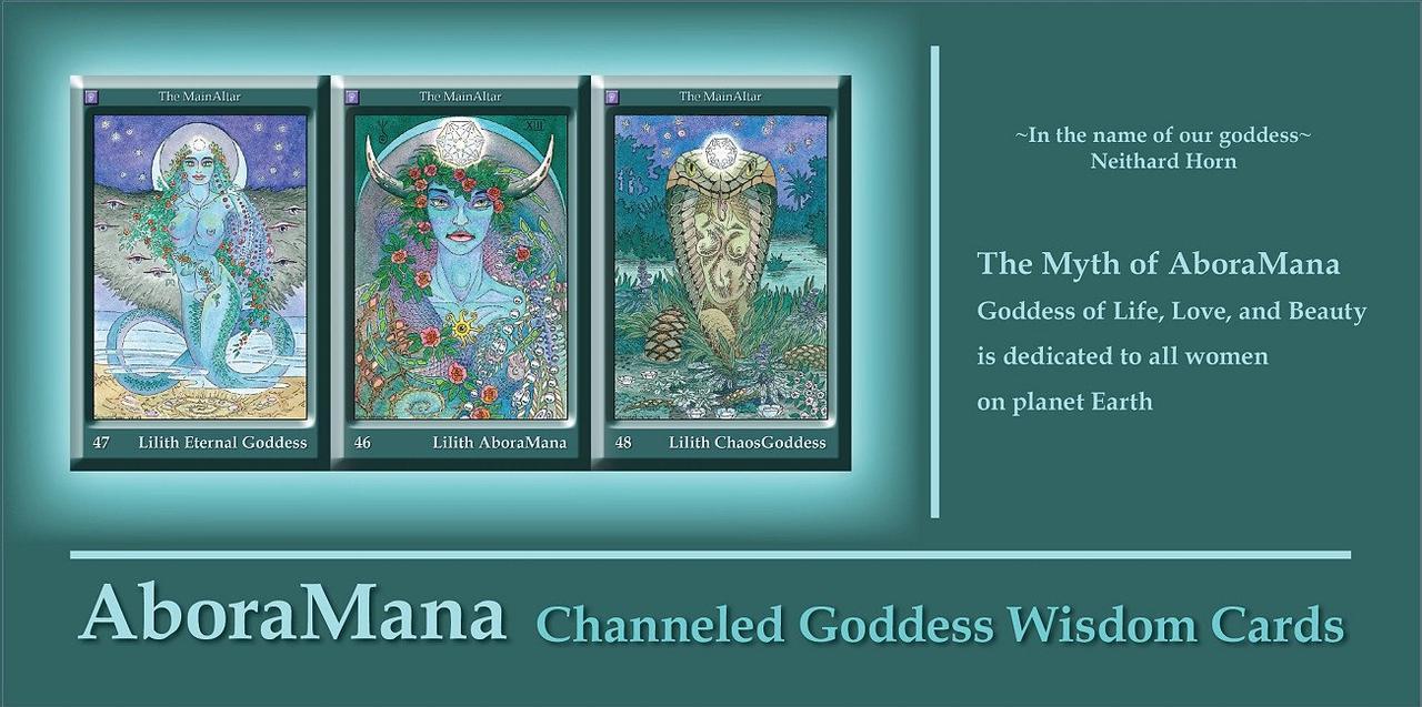 AboraMana: Channeled Goddess Wisdom Cards/ АбораМана: Ченнелированные Карты Мудрости Богини