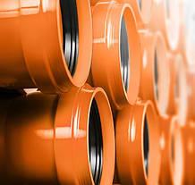 Труба канализационная наружная ПВХ 110 мм 3,2x2м (Magnaplast) SN4
